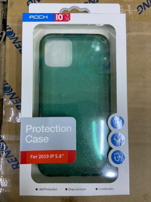 Чехол Rock Protection Case для Iphone 11 Pro - Green/Green