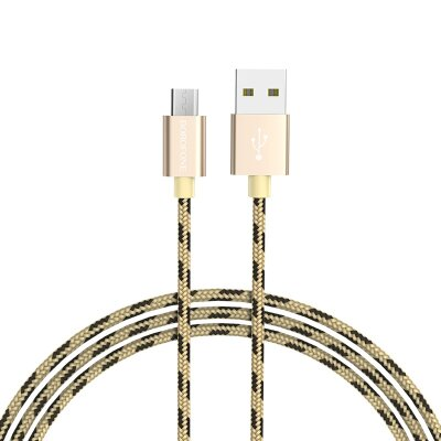 Кабель Borofone Cable USB to Micro-USB BX24 Ring current - Gold