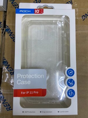 Чехол Rock Protection Case для Iphone 11 Pro - Silver