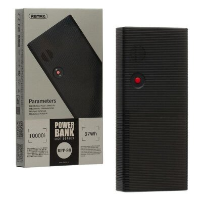 Power Bank REMAX Dot series 10000mAh RPP-88 - Black