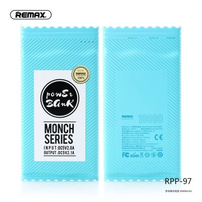 Power Bank Remax Monch Series 10000mah RPP-97 - Blue