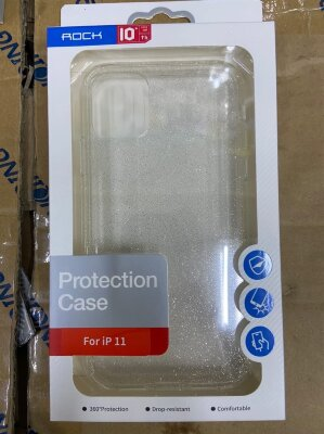 Чехол Rock Protection Case для Iphone 11 - Silver