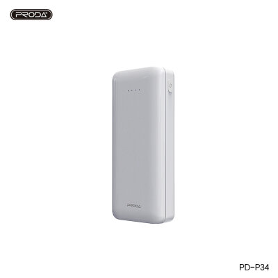 Power Bank Proda 10000mAh PD-P34 - White