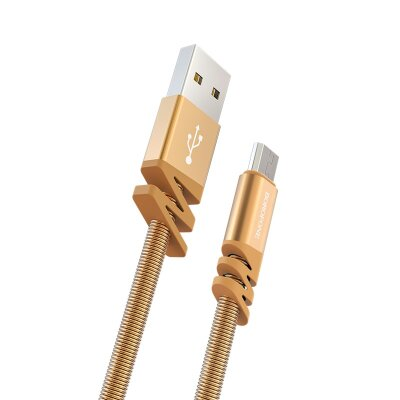 Кабель Borofone Cable USB to Micro-USB BX27 Dainty - Gold
