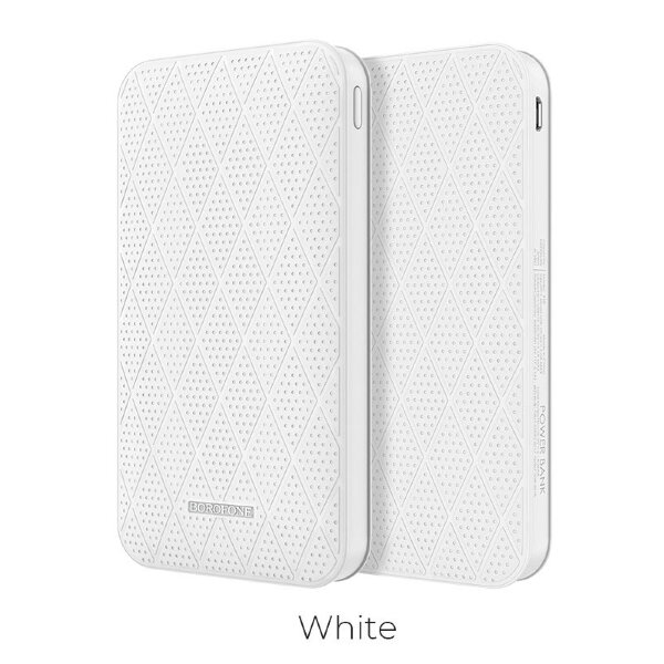 "Borofone BT8 ""MaxPower"" 10000mAh Power Bank - Белый"