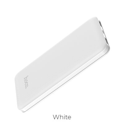 Power Bank hoco J26 Simple Energy 10000mAh - Белый