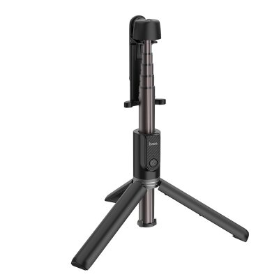 Селфи палка hoco K11 Wireless tripod selfie stand - Black