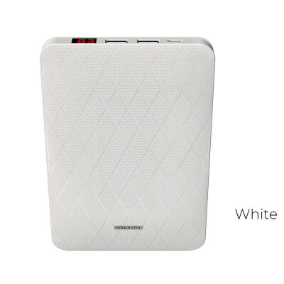"Borofone BT9 ""MaxPower"" 20000mAh Power Bank - Белый"