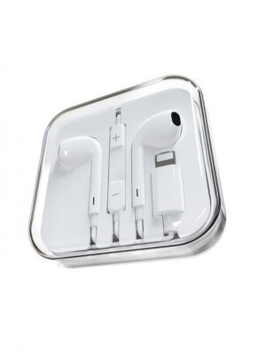 Наушники Borofone BM32 Plus Original series Lightning wireless call headset - White