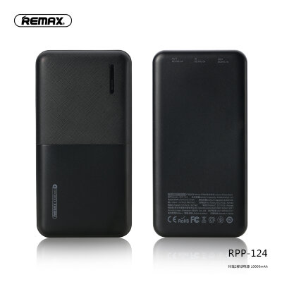 Power Bank Remax 10000mAh RPP-124 Linon-2 - Black
