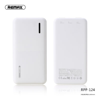 Power Bank Remax 10000mAh RPP-124 Linon-2 - White