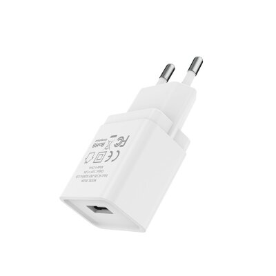 Сетевой адаптер Borofone Wall charger BA19A Nimble EU - White