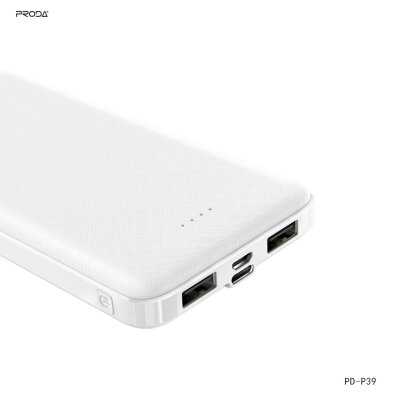 Power bank PRODA HUJON Series 10000mAh PD-P39 - White