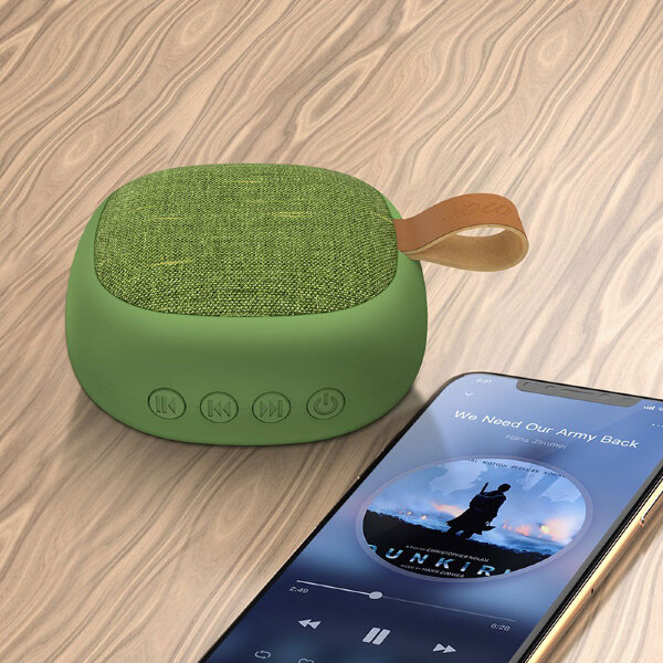 Колонка hoco BS31 Bright sound sports wireless speaker - Green