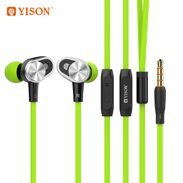 Наушники YISON CX620 - Green