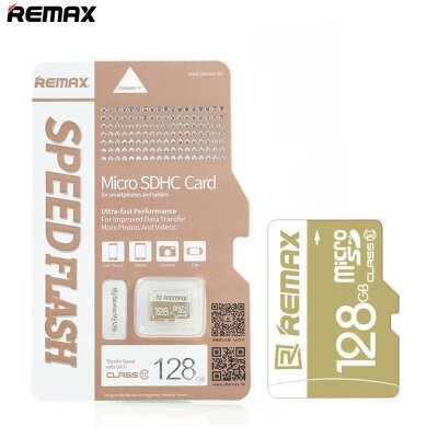 Карта памяти Remax Micro SD Card 128G C10 3.0