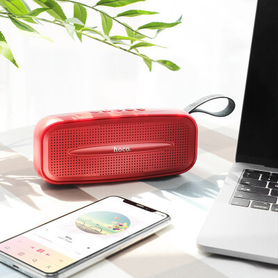 Колонка hoco BS28 Torrent wireless speaker - Red