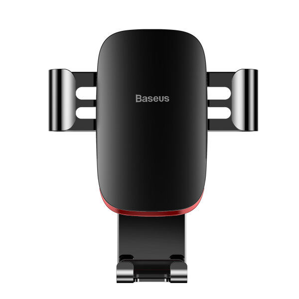 Автодержатель Baseus Metal Age Gravity Car Mount (Air Outlet Version) (SUYL-D01) - Чёрный