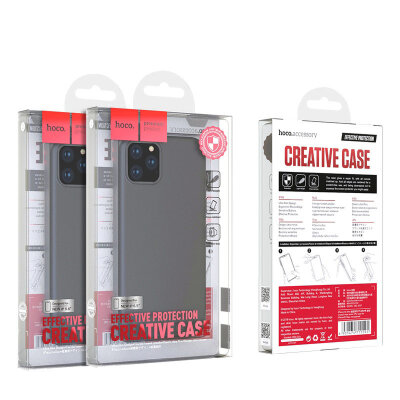Чехол hoco Fascination series protective case for iPhone 11 - Black