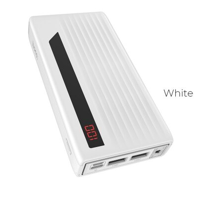 "Power bank hoco ""J27A Wide energy"" 20000mAh dual USB output - Белый"