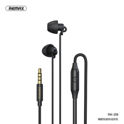 Наушники REMAX Sleep Earphone RM-208 - Black