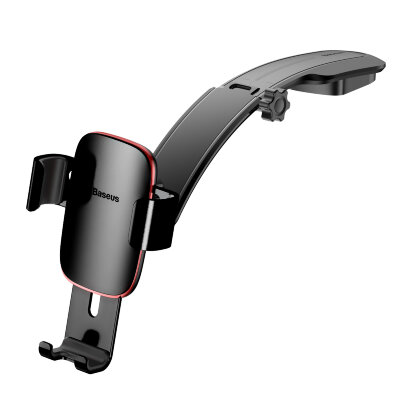 Автодержатель Baseus Metal Age Gravity Car Mount (Connecting Rod Type) (SUYL-F01) - Чёрный