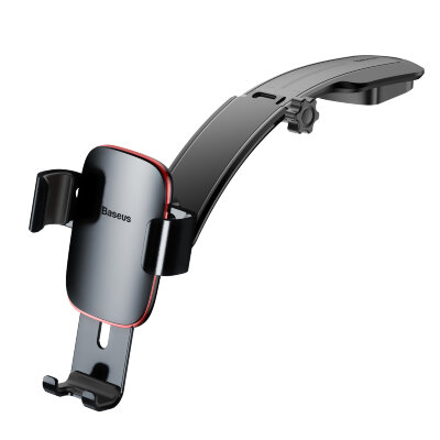 Автодержатель Baseus Metal Age Gravity Car Mount (Connecting Rod Type) (SUYL-F0G) - Серый