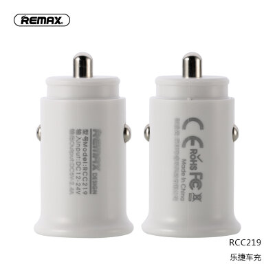 Автомобильное ЗУ Remax Roki series Car Charger RCC219 - White