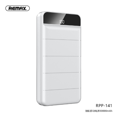 Power Bank REMAX LEADER Series 30000mAh RPP-141 - White