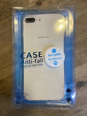 Чехол Borofone Protective case Ice series BI4 для Iphone 7/8 Plus - Transparent