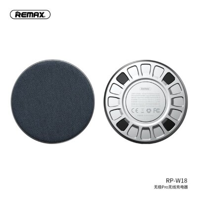Беспроводная зарядка REMAX infinite wireless charger RP-W18 - Blue