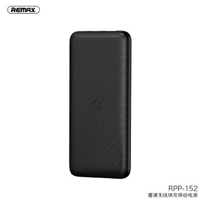 Power Bank REMAX RESU Wireless Holoder 10000mAh RPP-152 Black