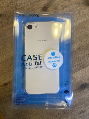 Чехол Borofone Protective case Ice series BI4 для Iphone 7/8 - Transparent