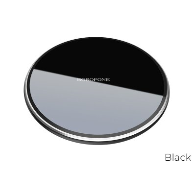 Беспроводная зарядка Borofone Wireless charger BQ3 Preference 5W / 7.5W / 10W - Black