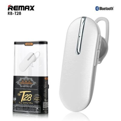 Гарнитура Remax Bluetooth Headset RB-T28 - White