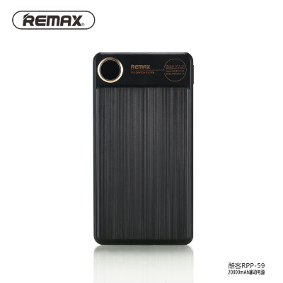Power Bank Remax Kooker Series 20000mah RPP-59 - Black