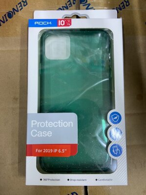 Чехол Rock Protection Case для Iphone 11 Pro Max - Green/Green