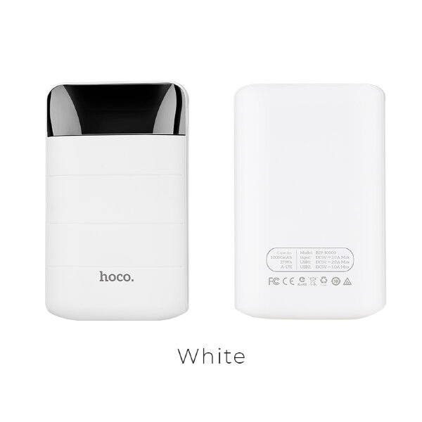 Power Bank hoco B29 10000mAh Domon - Белый