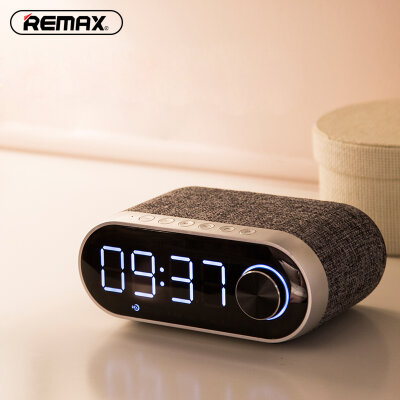 Колонка Remax Bluetooth RB-M26 - Серебристый