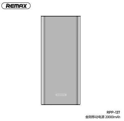 Power Bank REMAX KINKON Series 20000mAh RPP-137 - Silver
