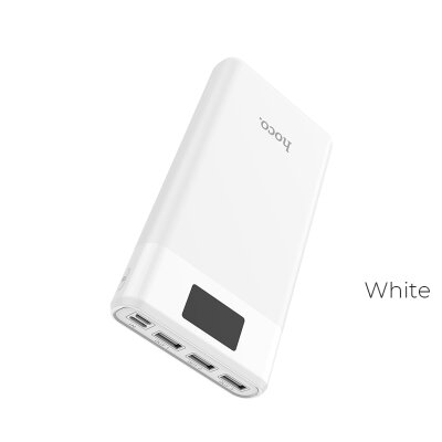 Power Bank hoco B35E Entourage mobile (30000mAh) - Белый