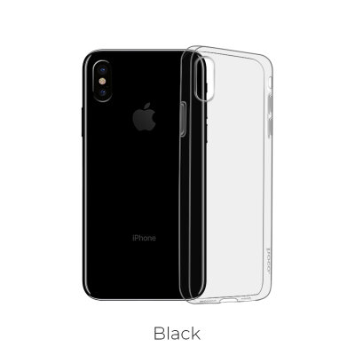 Чехол hoco Light series TPU  iPhone XS - Темный