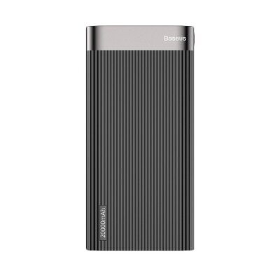 Внешний аккумулятор Baseus Parallel Type-C PD +QC3.0 power bank 20000mAh 18W (PPALL-APX01) - Черный