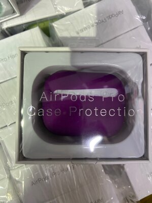 "Чехол ""Case Protection"" для AirPods Pro - Фиолетовый"