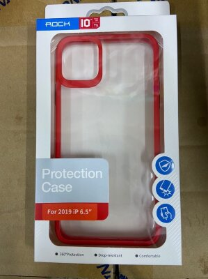 Чехол Rock Protection Case для Iphone 11 Pro Max - Red