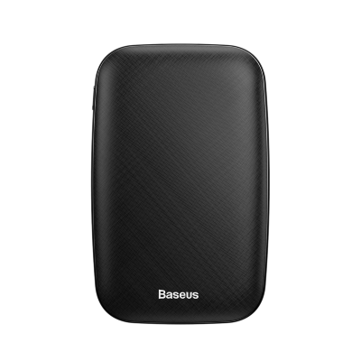 Внешний Аккумулятор Baseus Mini Q power bank 10000mA(M+T input/output 50 cm micro cable) (PPALL-BXQ01) - Black