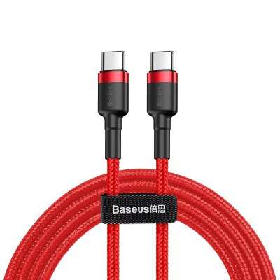 Кабель Baseus Cafule Series Type-C PD2.0 60W Flash charge Cable (20V 3A) (CATKLF-H09) 2M - Red