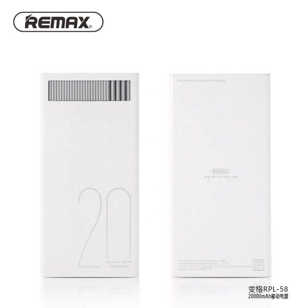 Power Bank REMAX Janshon series 10000mah RPP-153 - White