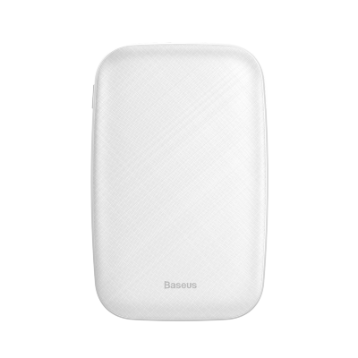 Внешний Аккумулятор Baseus Mini Q power bank 10000mAh(M+T input/output 50 cm micro cable) (PPALL-BXQ02) - White