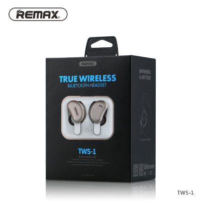 Наушники Bluetooth Remax TWS-1 - Gold